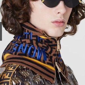 Exclusive Fendi gentle monster collaboration scarf